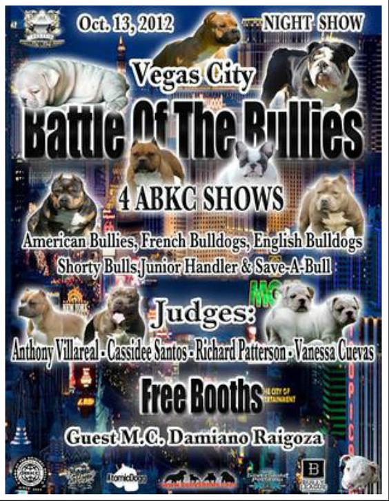 Vegas Battle of the Bullies - October 13, 2012