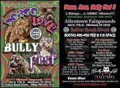 3rd Annual Peace Love Bully Fest 3 A.B.K.C Show Janurary 4th !