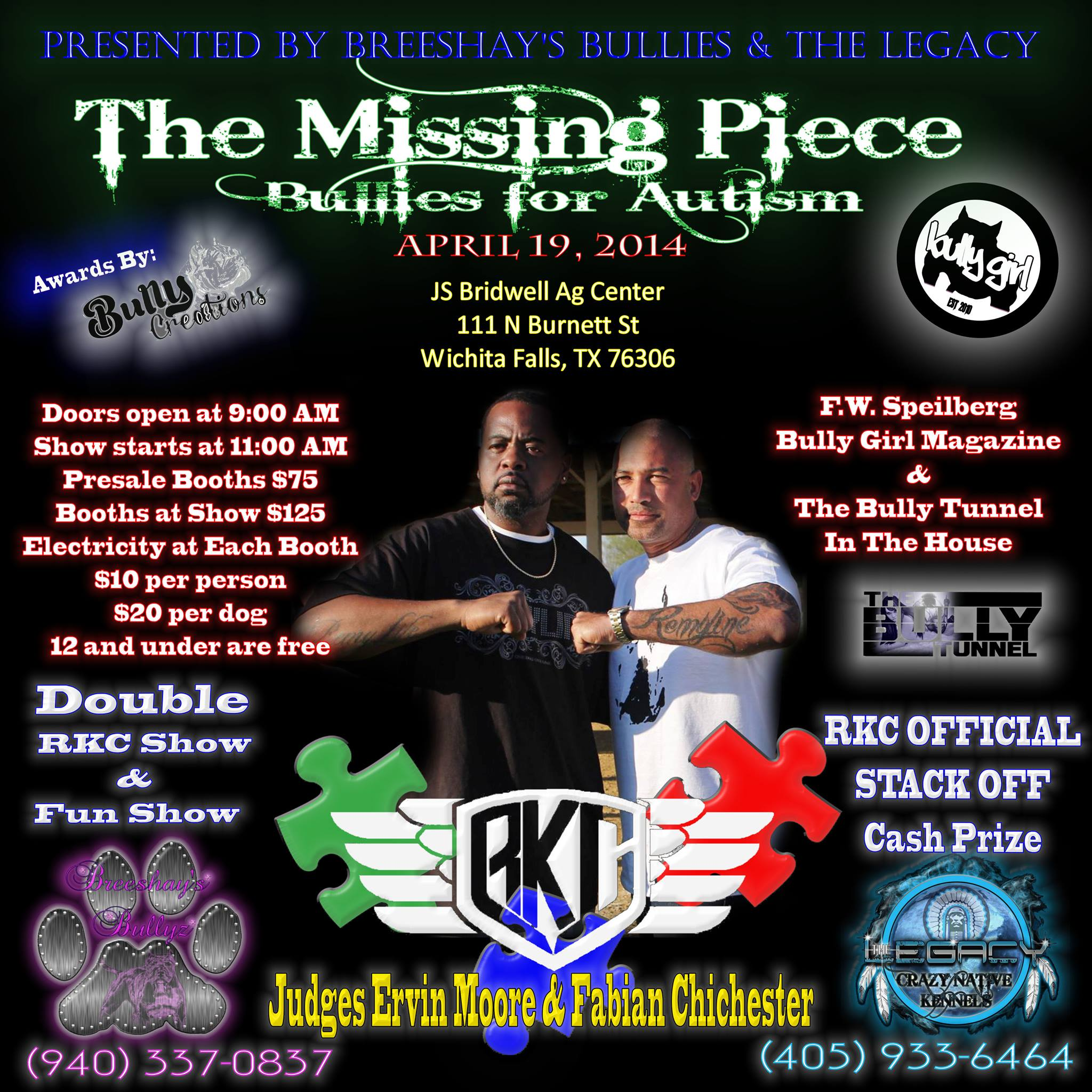 The Missing Piece - Bullies for Autism 2014 RKC Show