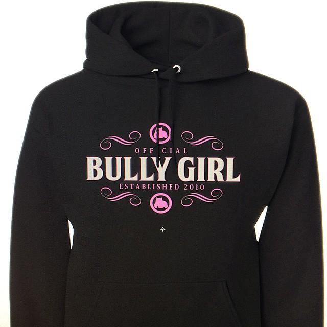 black bully girl hoodie