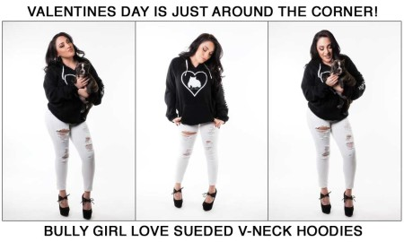 Bully Girl Love Hoodies