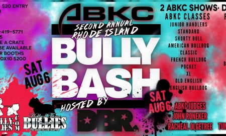 2nd Annual Rhode Island Bully Bash