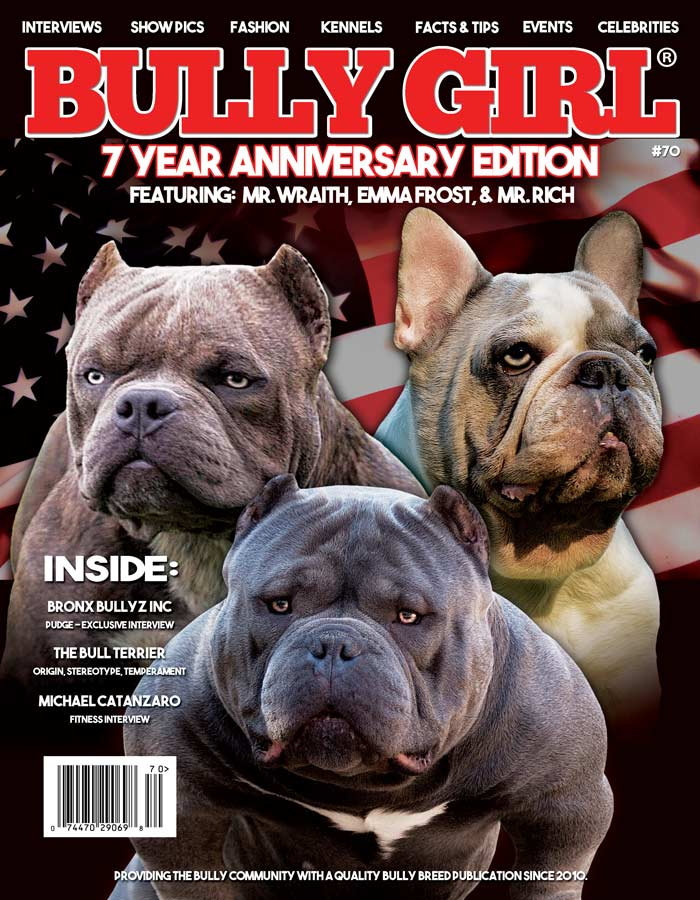 Bully Girl Magazine 7 Year Anniversary Issue