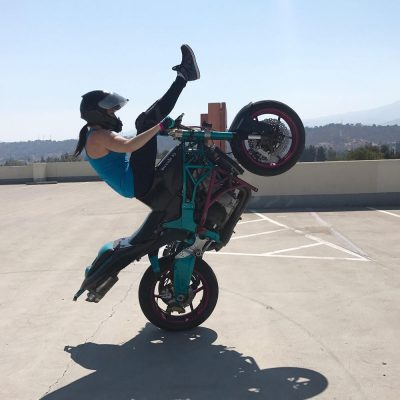 Robyn Stunts: Bully Girl aka Motorcycle Stunt Rider
